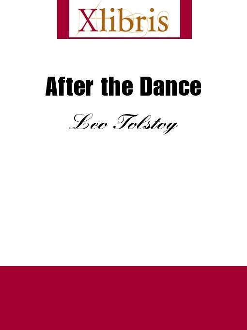 After the Dance EB9785551067726