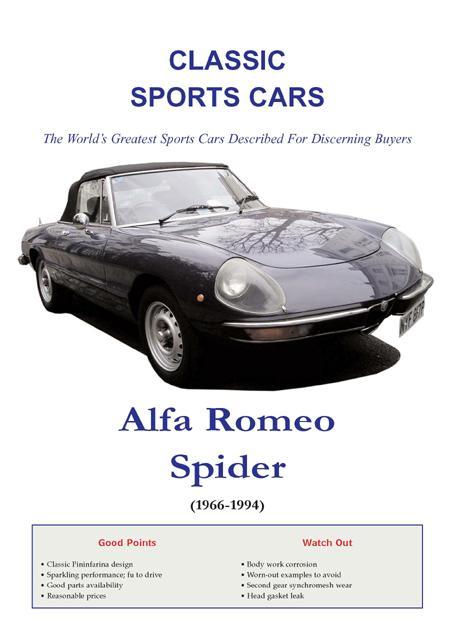 Alfa Romeo Spider Buyers Guide EB9785551459385