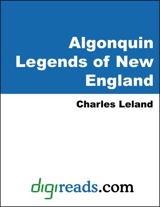Algonquin Legends of New England EB9785551319931