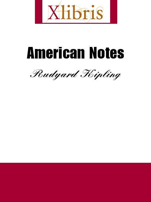 American Notes EB9785551064671
