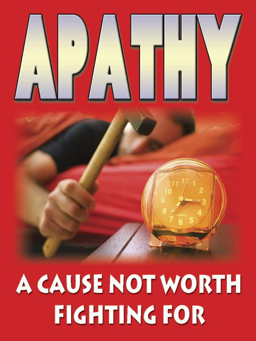 Apathy - A Cause Not Worth Fighting For EB9785551696902
