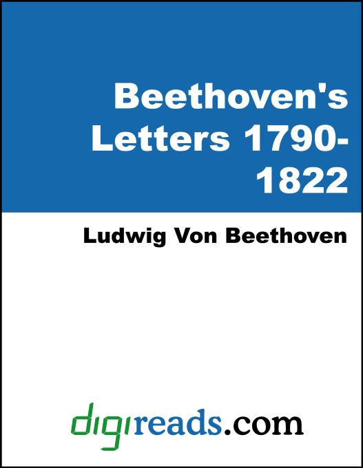 Beethoven's Letters Volumes I and II (1790-1826) EB9785551379546