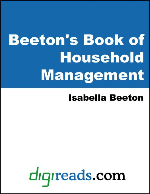Beeton's Book of Household Management EB9785551379553