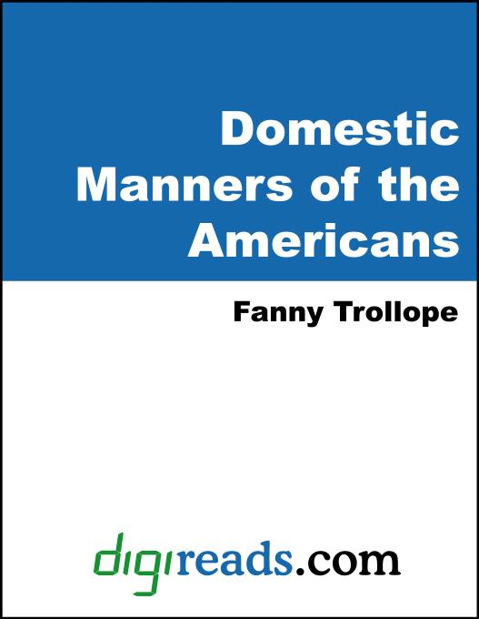 Domestic Manners of the Americans EB9785551328278