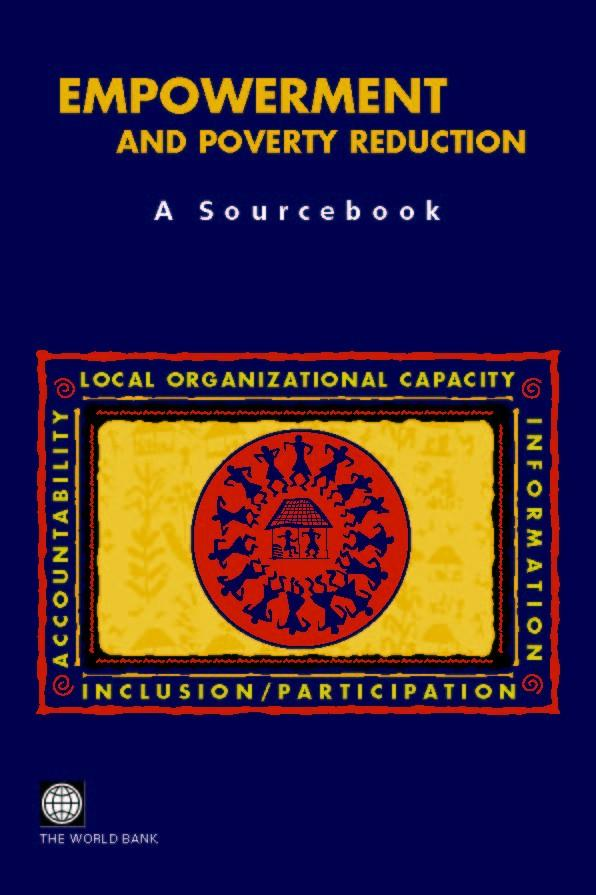 Empowerment and Poverty Reduction: A Sourcebook EB9785551406525