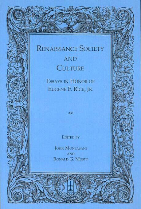 Eugene F. Rice, Jr.: An Appreciation EB9785551426325