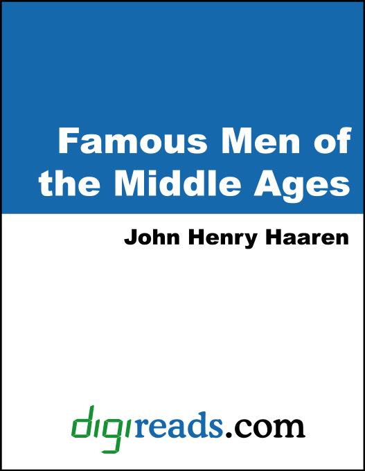 Famous Men of the Middle Ages EB9785551330356