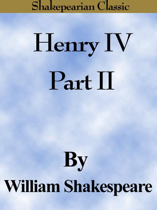 Henry IV Part II (Shakespearian Classics) EB9785551486671