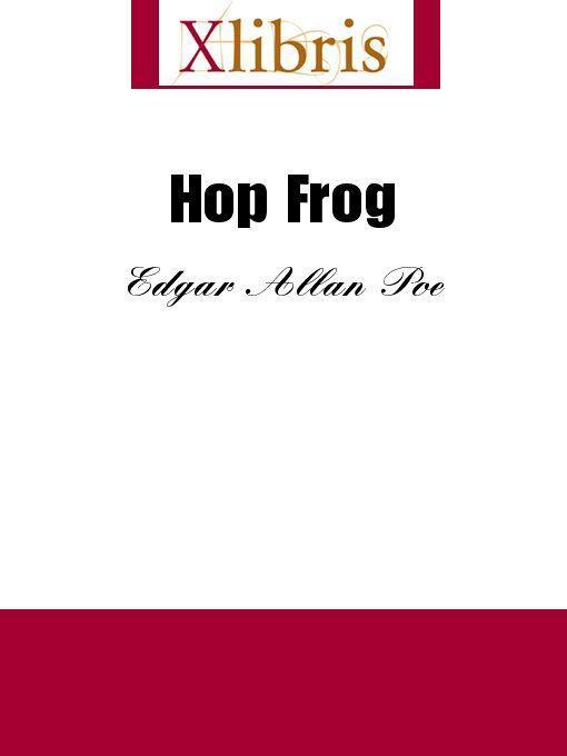 Hop Frog EB9785551067955