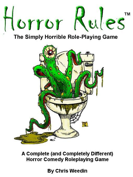 Horror Rules, The Simply Horrible Roleplaying Game EB9785551440536