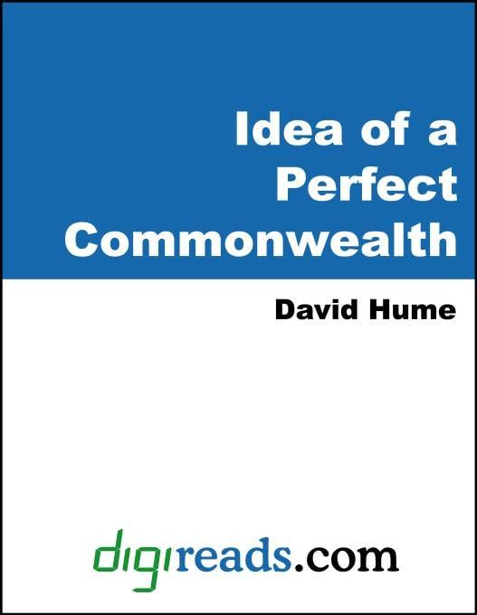 Idea of a Perfect Commonwealth EB9785551399681