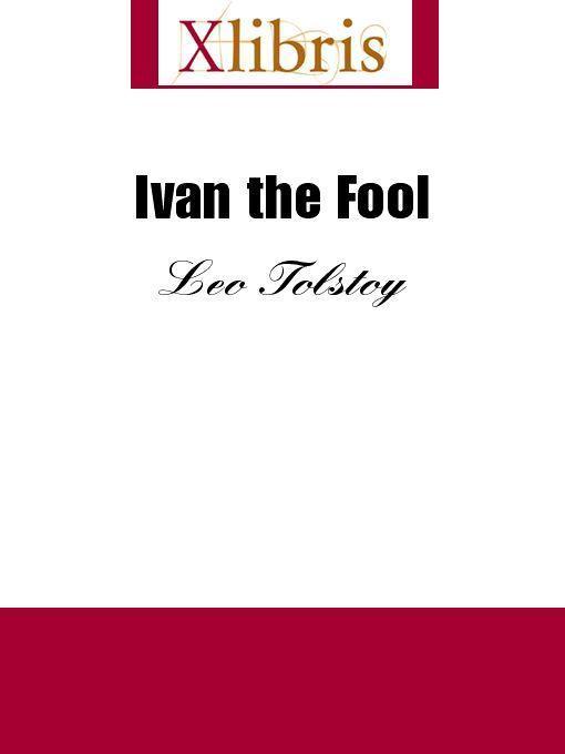 Ivan the Fool EB9785551067559