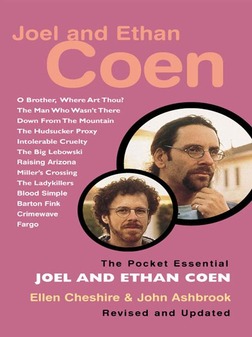 Joel and Ethan Coen - The Pocket Essential Guide EB9785551569084