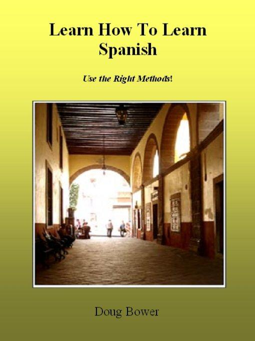Learn How To Learn Spanish EB9785551632900