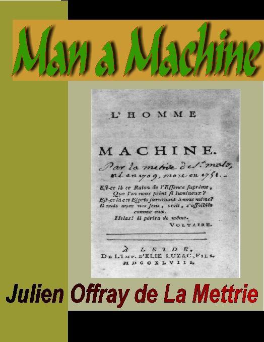 Man a Machine EB9785551309161