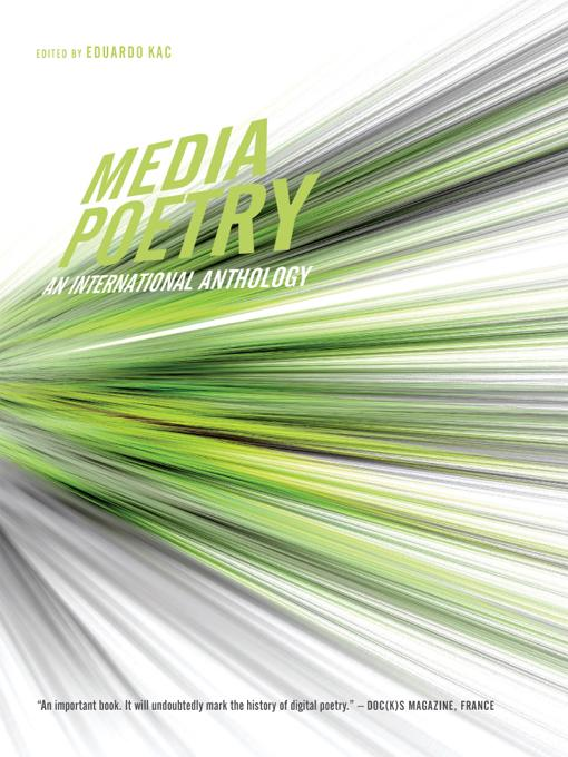 Media Poetry: An International Anthology EB9785551727026