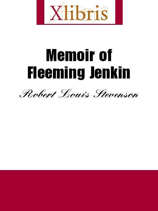 Memoir of Fleeming Jenkin EB9785551068549