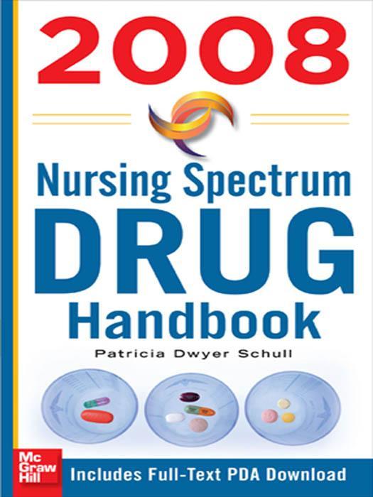 Nursing Spectrum Drug Handbook 2008