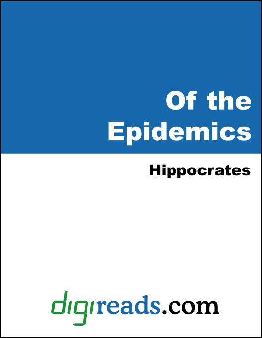 Of the Epidemics EB9785551399452