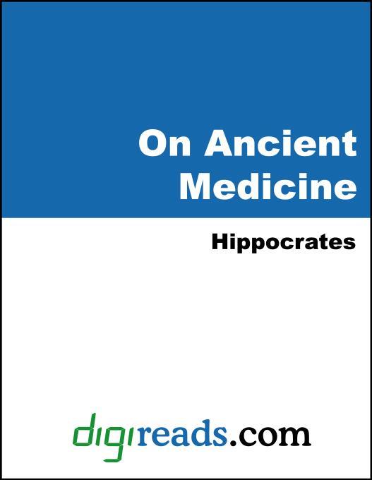 On Ancient Medicine EB9785551403647