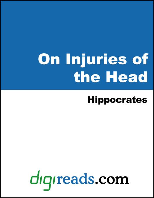On Injuries of the Head EB9785551399483