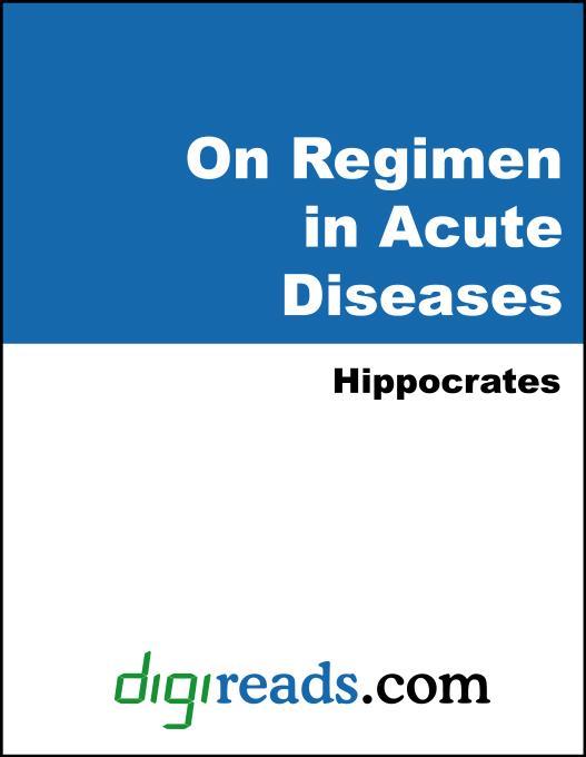 On Regimen in Acute Diseases EB9785551403654