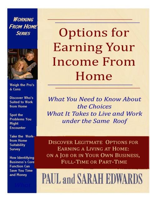 Options for Earning Your Income from Home EB9785552004836