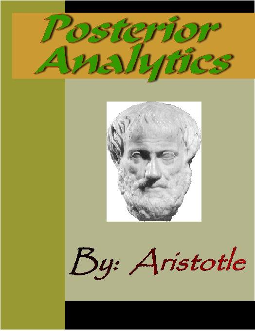 Posterior Analytics - ARISTOTLE EB9785551291121
