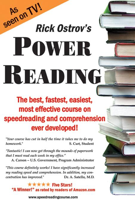 Power Reading: The best, fastest, easiest, most effective course on speedreading and comprehension ever developed! EB9785551217831