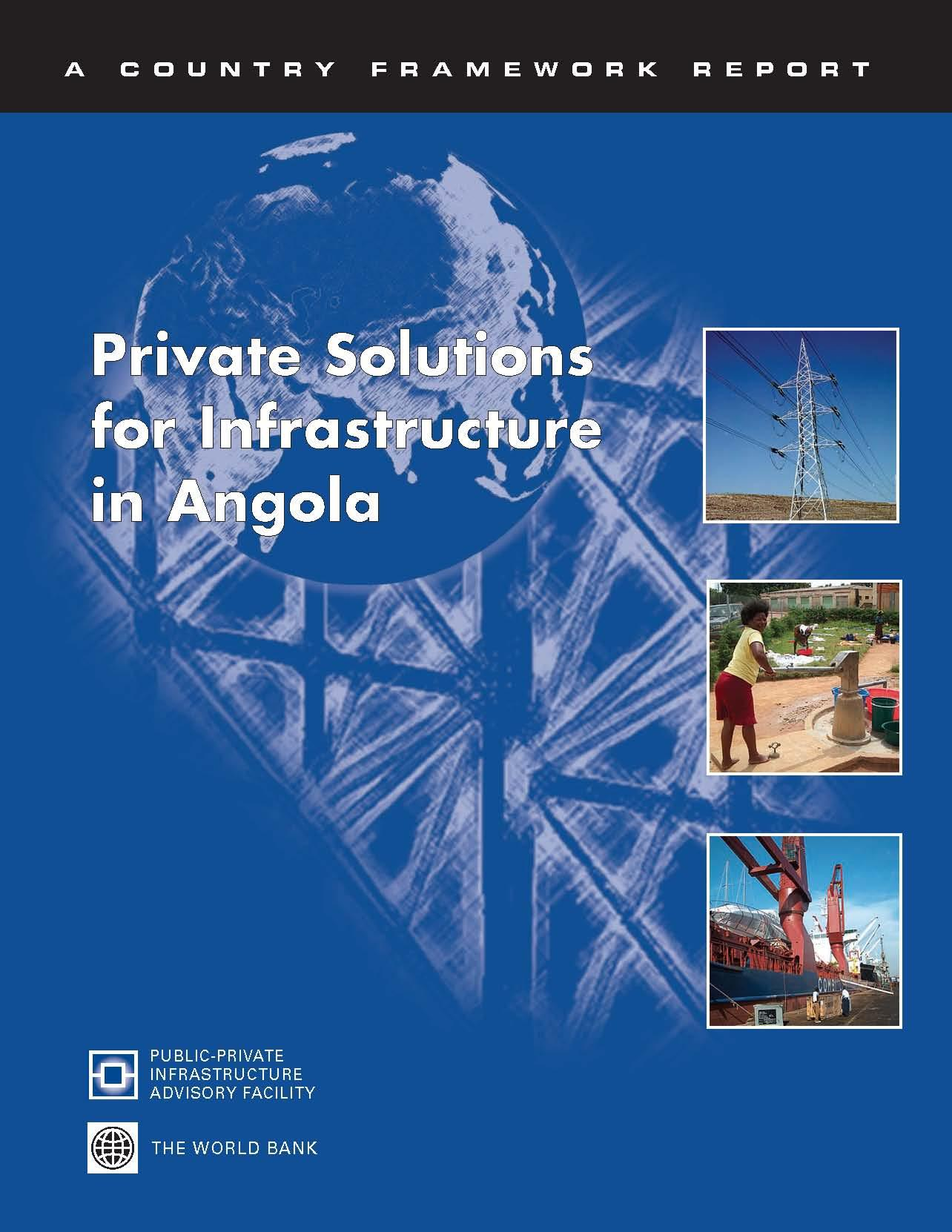 Private Solutions for Infrastructure in Angola EB9785551461692