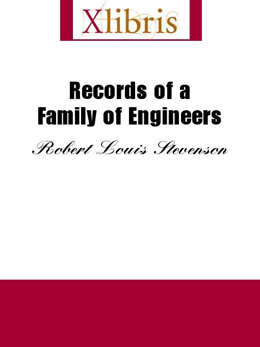 Records of a Family of Engineers EB9785551068570