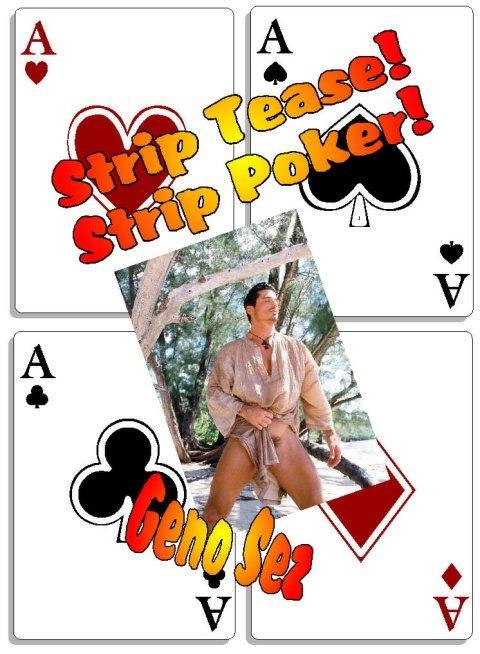 STRIP TEASE STRIP POKER! Gay Erotic Playing Cards - Illustrated Erotica EB9785551375906