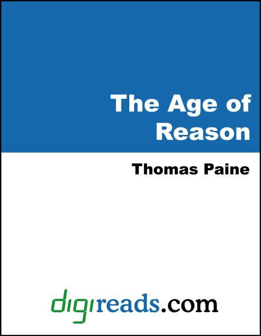 The Age of Reason EB9785551382379