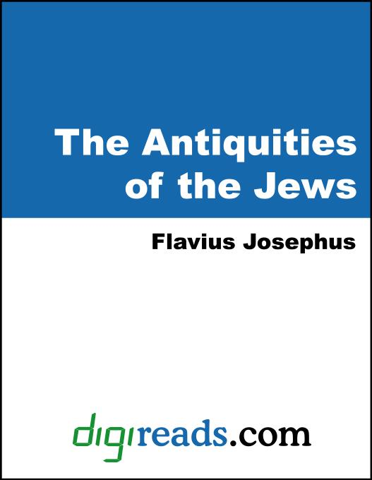 The Antiquities of the Jews EB9785551381631
