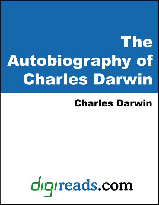 The Autobiography of Charles Darwin EB9785551316343
