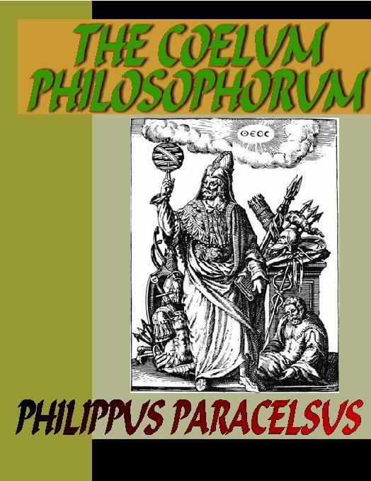 The Coelum Philosophorum EB9785551308980
