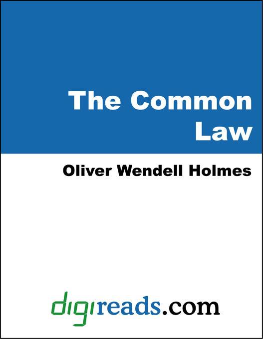 The Common Law EB9785551311737