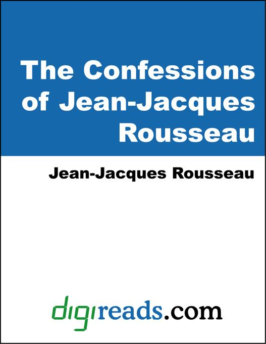 The Confessions of Jean-Jacques Rousseau EB9785551317463
