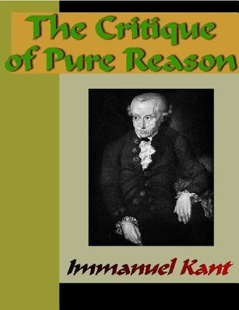 The Critique of Pure Reason EB9785551363408