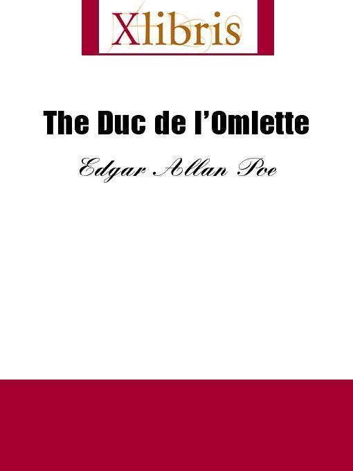 The Duc de l'Omlette EB9785551065364
