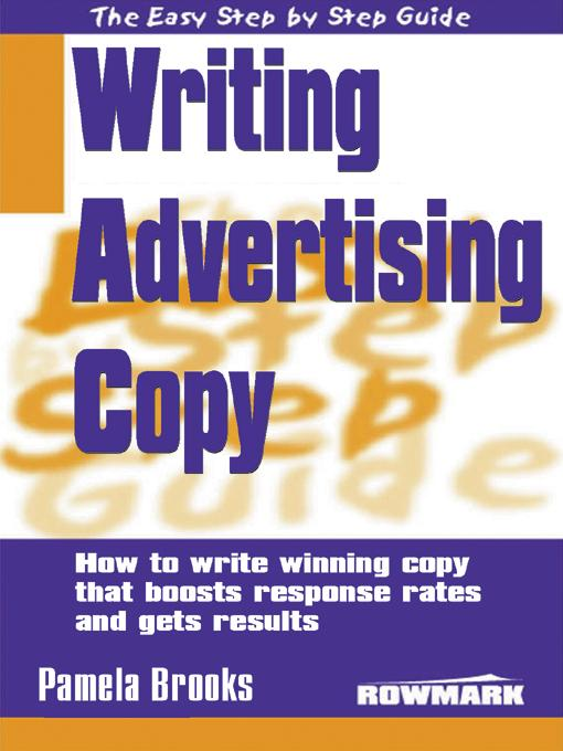 The Easy Step by Step Guide to Writing Advertising Copy EB9785551587682