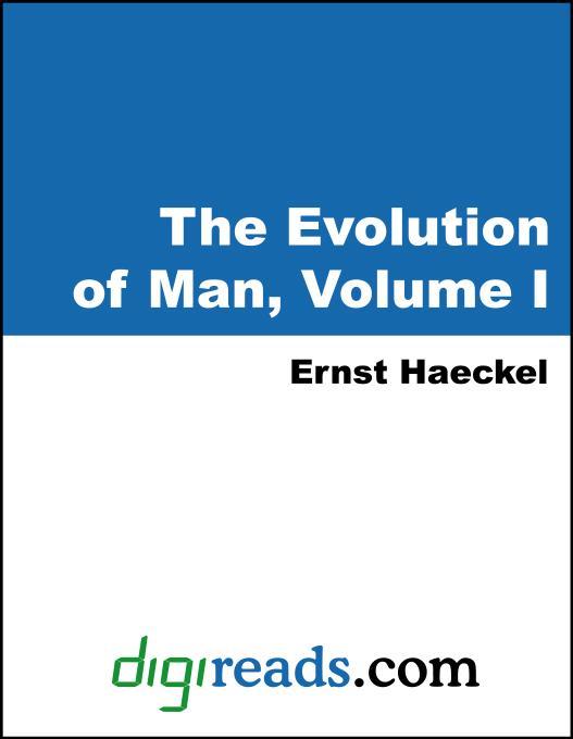 The Evolution of Man, Volume I EB9785551399292