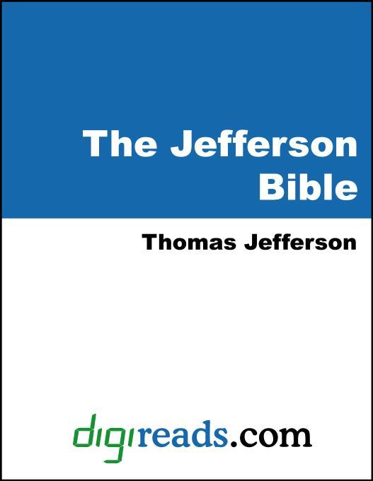 The Jefferson Bible EB9785551381600
