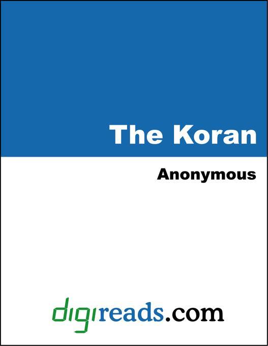 The Koran (The Qur'an) EB9785551323495