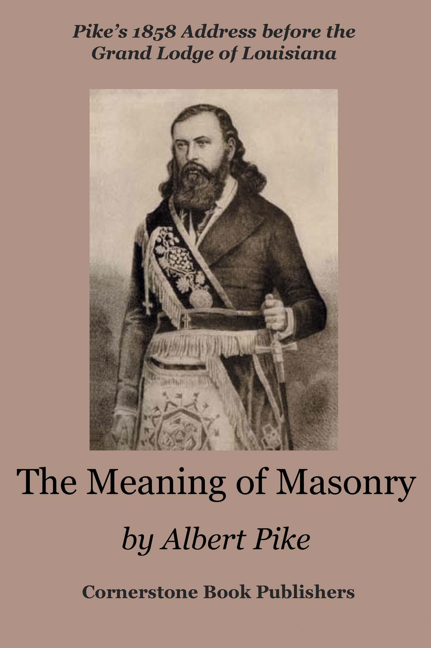 The Meaning of Masonry EB9785551438250