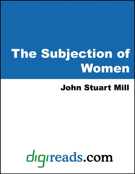 The Subjection of Women EB9785551382294