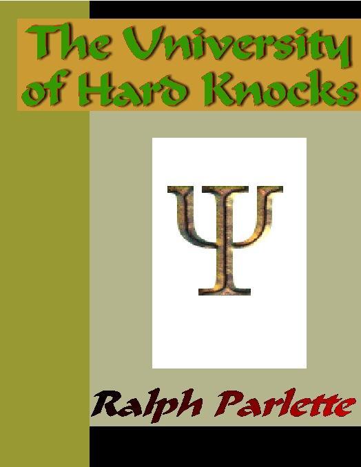 The University of Hard Knocks EB9785551334859