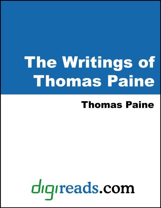 The Writings of Thomas Paine EB9785551324263