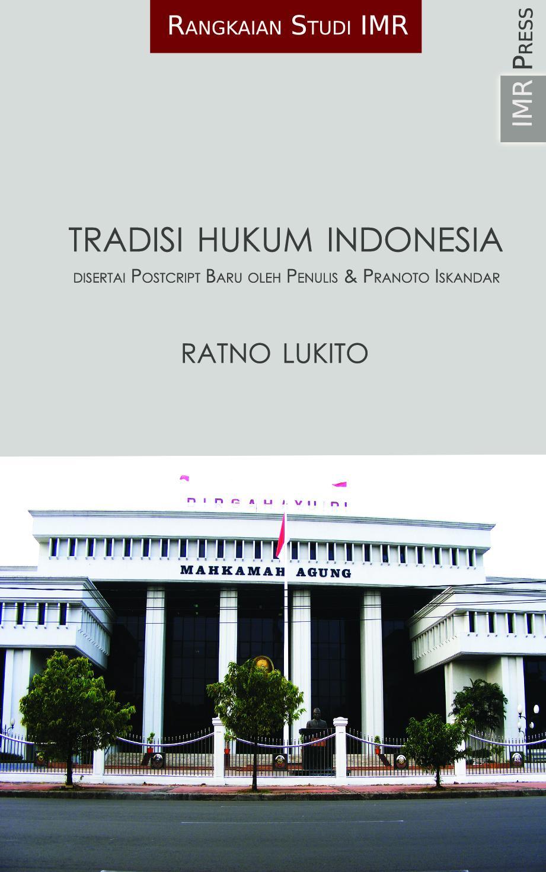 Tradisi Hukum Indonesia EB9786027598089