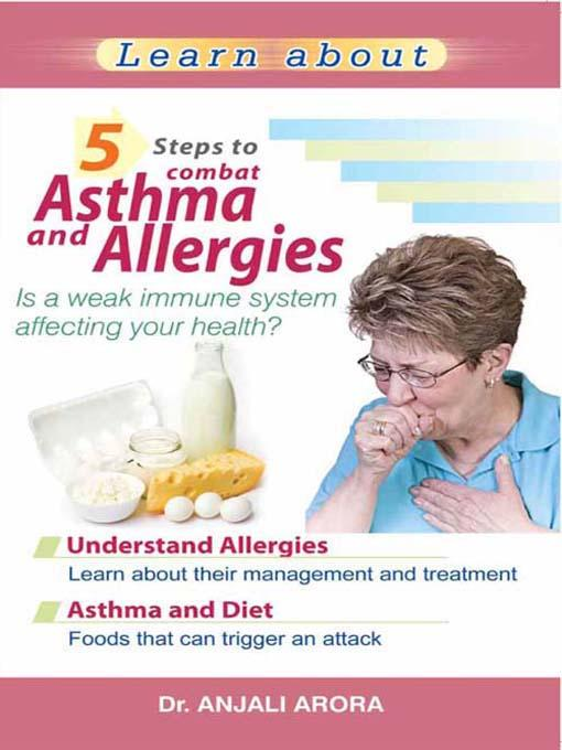 5 Steps to Combat Asthma and Allergies EB9788120790421
